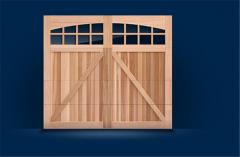 5400/5700 Cedar Faced Carriage House Collection Garage Door