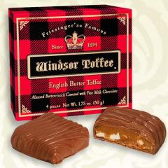 Windsor Toffee 4pc Box