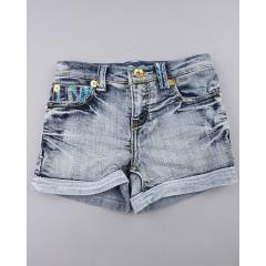 Sweater Pocket Denim Shorts