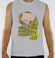 Men Belly Up Brigade Sleeveless Shirt