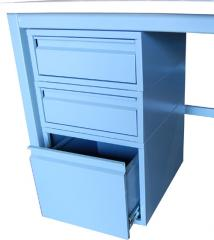"""(2) 6"""" and (1) 12"""" Steel Drawer"""