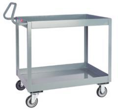 "Jamco 2-Shelf 3"" Deep Lipped Service Cart"