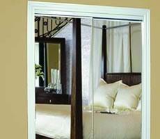 Quality Enclosures Mirrored Closet Doors