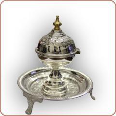 Silver Incense Burner