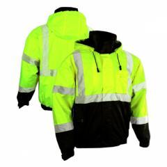 Fleece Lined Bomber Jacket