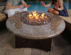 Wood Or Gas Burning Fire Pits