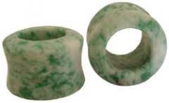 China Green Jade Stone Earlets