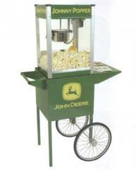 John Deere Johnny Popper Popcorn Popper with Cart
