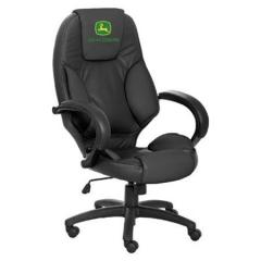 John Deere Leather Desk Chair - LP25427