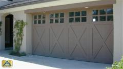 Country House Paint Garage Door