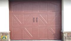 Tudor House Steel Garage Door