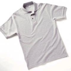 Ash Herringbone Polo Shirt