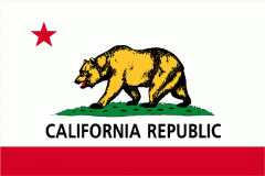 10x15 Ft 2-Ply Poly California Flag