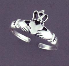 BQ396 Sterling Silver Toe Ring