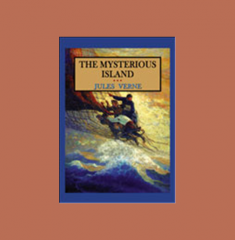 The Mysterious Island By Jules Verne Book