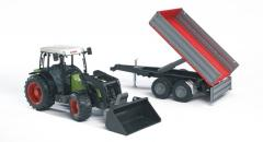 Claas Nectis Frontloader Trailer Toy