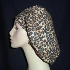 Leopard Bouffant