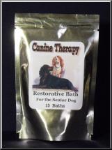 Restore Canine Therapy Restorative Bath for Senior