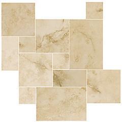 Aragon Beige Small Versailes Pattern 8.72 SF Tile