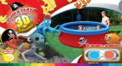 Splash & Play 3D Pirate Pool