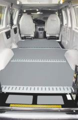 BLT Seamless Vehicle Floor Covering