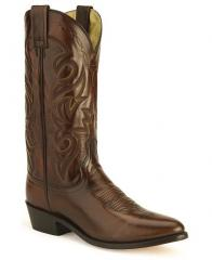 Dan Post Mignon Leather Cowboy Boots - Medium Toe