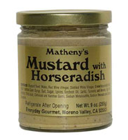 Matheny's Mustard with Horseradish