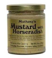 Matheny's Mustard with Horseradish