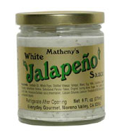 Matheny's White Jalapeño Sauce