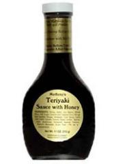 Matheny's Teriyaki Sauce with Honey