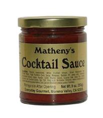 Matheny's Cocktail Sauce