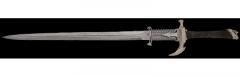 Gil Hibben 09 Dragons Lair Sword Damascus GH5016D