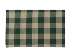 Buffalo check Green Tea Towel