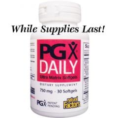 PGX® (PolyGlycopleX®) Daily 120 Softgels, 750 mg