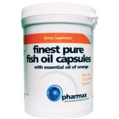 Finest Pure Fish Oil Softgels Supplement