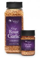 Crisp Roast Garlic Bits