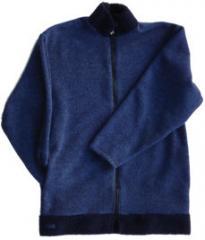 Berber Trimmed Fleece Jacket