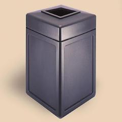 38 Gal. Square Trash Unit