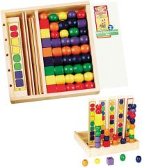 Wooden Bead Sequencing Set