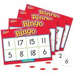 Bingo de Números (Spanish Numbers)