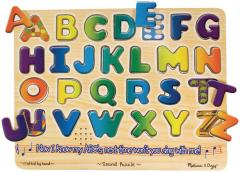 "Alphabet Sound Puzzle, 13.25"" x"