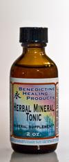 Herbal Mineral Tonic - 2 oz.