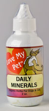 LoveMyPet: Daily Minerals for Pets - 2 oz.