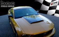 2010-2012 Ford Mustang Carbon Fiber Hood Scoop
