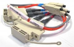 Fibertron W2370C-04 Fiber Optic Cable Assembly, 14