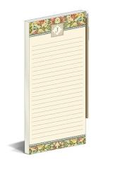 J Florentine Monogram Magnetic Notepad