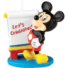 Mickey Mouse Candle