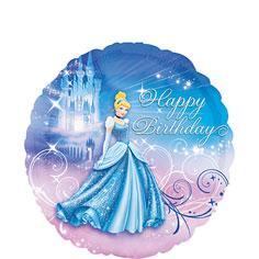 Cinderella Heart Balloon 18in