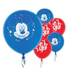 Latex Mickey and Friends Balloons 6ct
