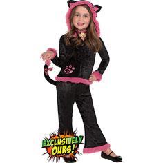 Girls Cuddly Kitty Costume